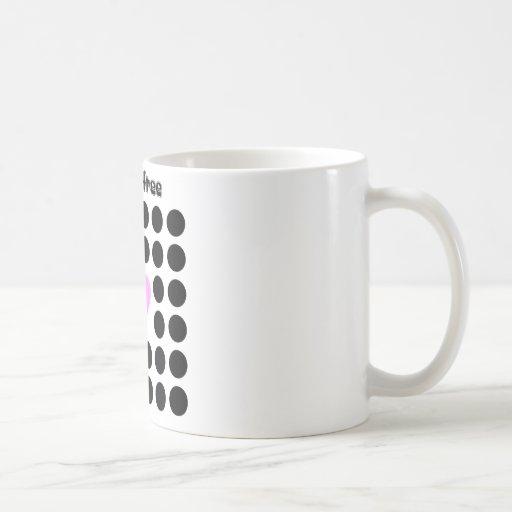Break free coffee mugs