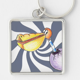 Break Free Premium Large Square Keychain