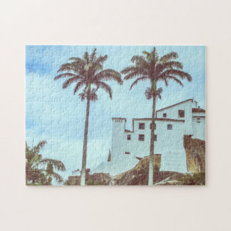 Break-head: Palms of the Convent of the Penha Jigsaw Puzzle