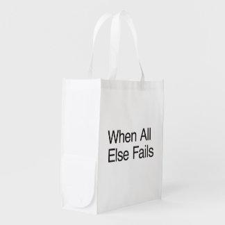 Break in case of emergency.ai grocery bags