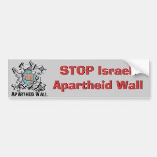 Break Israeli Apartheid Wall Bumper Sticker