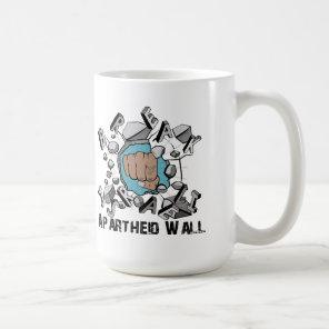 Break Israeli Apartheid Wall Coffee Mug