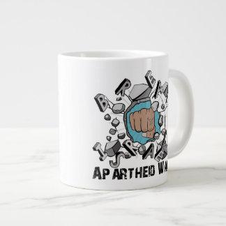 Break Israeli Apartheid Wall 20 Oz Large Ceramic Coffee Mug
