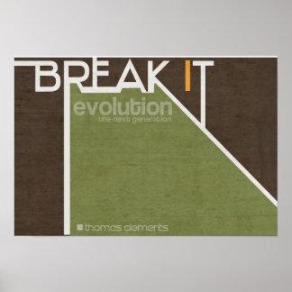 Break It Tradition Posters