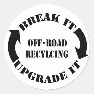 Break It Upgrade It Sticker
