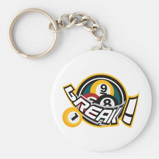 break! keychain