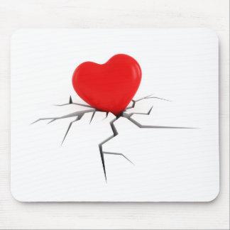 break love mouse pad