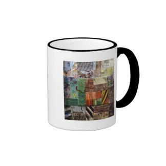 Break-O-Day Patchwork two-sided  Mug