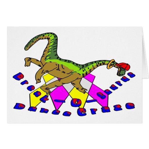 Break-O-Saurus Dance Craze Card