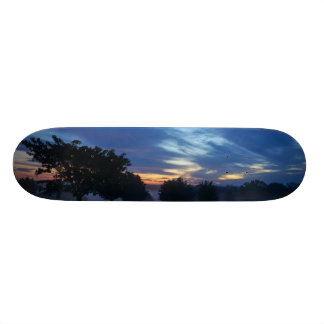 Break Of Dawn And Fog Skateboard Deck
