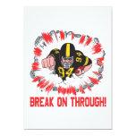 "Break On Through 5"" X 7"" Invitation Card"