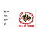 Break On Through Business Card