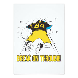 Break On Through Card
