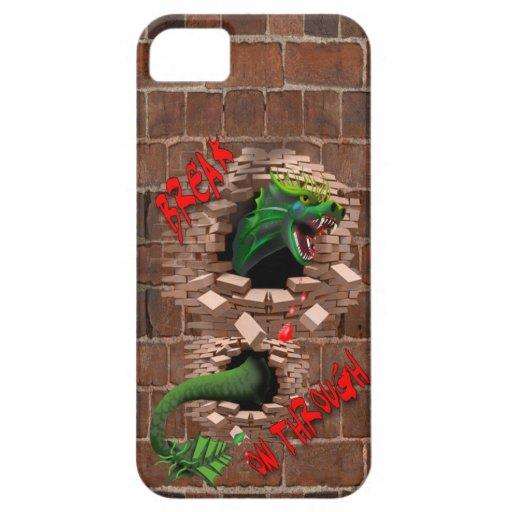 Break On Through Dragon iPhone 5/5S Cover