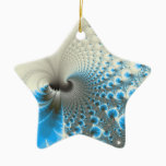 Break on Through - Fractal Art Ceramic Ornament