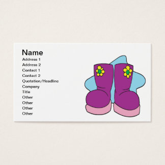 Break Out The Winter Boots Business Card