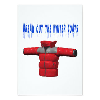 Break Out The Winter Coat Card