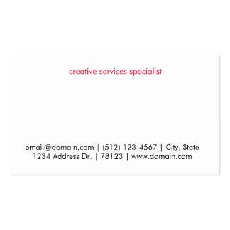 Break Prohibited Business Cards
