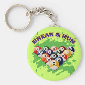 BREAK & RUN KEY CHAIN