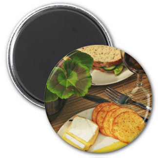 Break The Fast 2 Inch Round Magnet