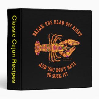 "Break the Head Crawfish 1.5"" Binder"