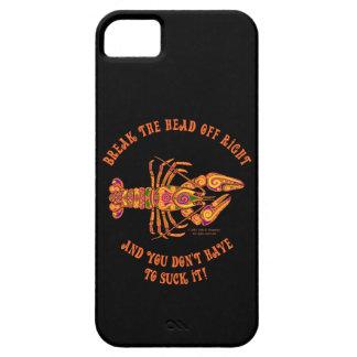 Break the Head Crawfish iPhone 5 Case