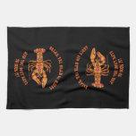 Break the Head Crawfish Kitchen Towel