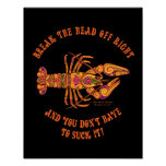 Break the Head Crawfish Print