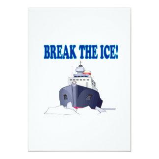 Break The Ice Card