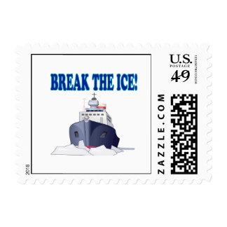 Break The Ice Postage Stamp