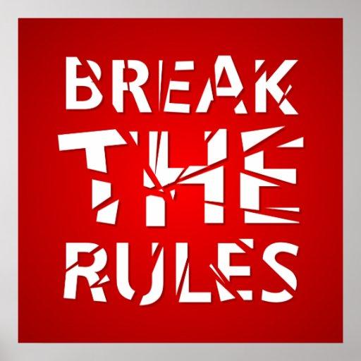 Break The Rules - poster