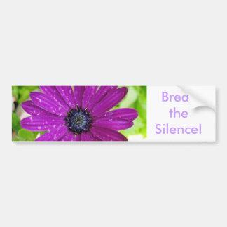 Break the Silence Bumper Sticker