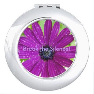 Break the Silence Compact Mirror