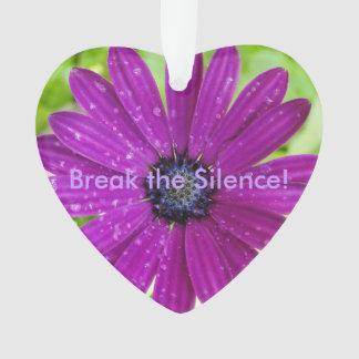Break the Silence ornament