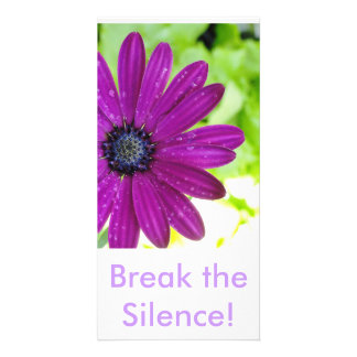Break the Silence Post Card