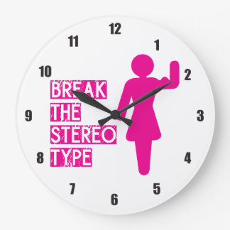 Break the Stereotype Large Clock