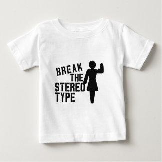 Break the stereotype t shirt