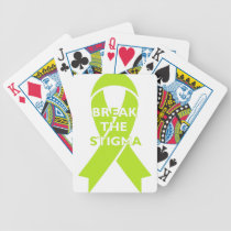 Break the Stigma Bicycle Playing Cards