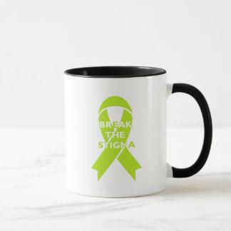 Break the Stigma - White Mug
