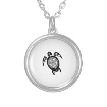 BREAK THE SURFACE SILVER PLATED NECKLACE