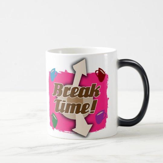 Break Time Morphing Mug