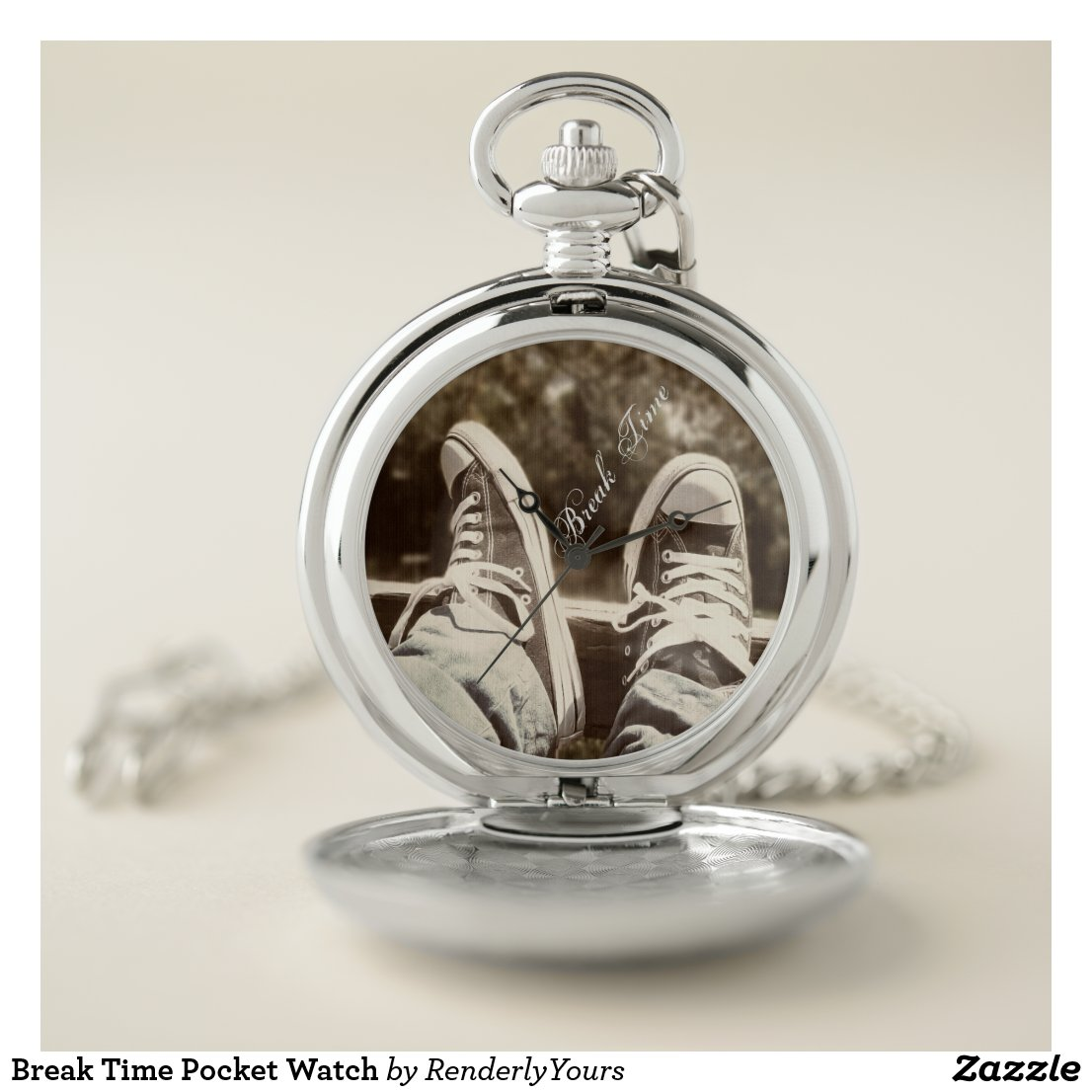 Break Time Pocket Watch