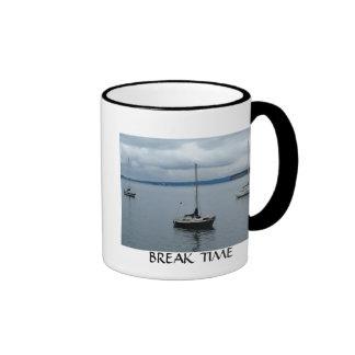 Break Time Ringer Coffee Mug