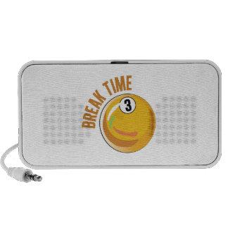 Break Time Travel Speaker