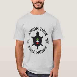 Break Time Turtle T-Shirt