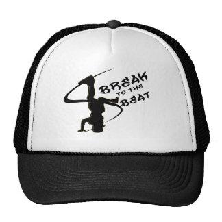 Break To The Beat Mesh Hats