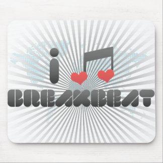 Breakbeat fan mouse pad