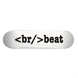 breakbeat HTML Skateboard