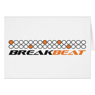 Breakbeat Music Production Pattern Card