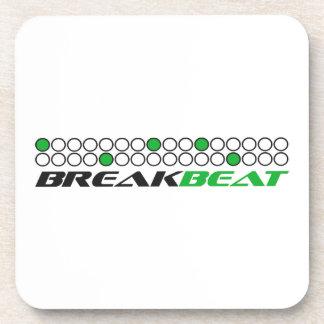 Breakbeat Music Production Pattern Coaster